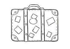 sketch-suitcase-white-background-isolated-38631318